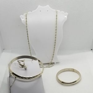 Lot of 925 Silver Beautiful Vintage Jewelry collec